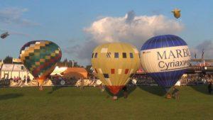 RC Heißluftballons auf der Warsteiner WIM