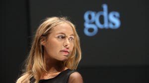 Model Alena Gerber eröffnete die GDS STUDIO Show