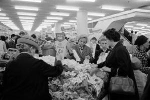 Vor 50 Jahren: Zwölf Tage Schlussverkauf