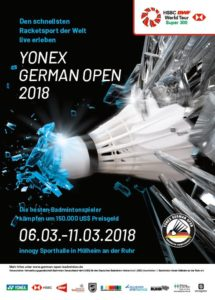 YONEX German Open 2018 in Mülheim an der Ruhr