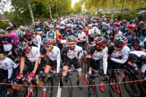 """Testfahrt """"Cup der Sparkasse Münsterland Ost"""" über 60 Kilometer"""
