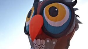 Warsteiner Internationale Montgolfiade – Ballontaufe Eule
