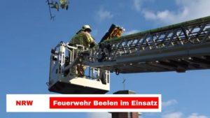 Freiwillige Feuerwehr Beelen simuliert Ernstfall