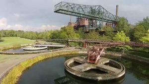 Luftaufnahmen vom Landschaftspark Duisburg