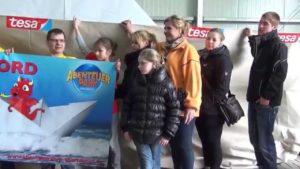 Die Wollnys mit dabei beim Weltrekordversuch in Oberhausen