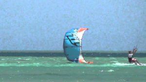 Kiten im Ägypten Urlaub in El Gouna